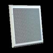 Anemostat ACG / wym. zew. 450x465 / RAL9016 / aluminium