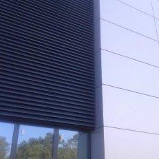 Ściana lamelowa  SSL-WL 4260x6000 RAL7016 AL